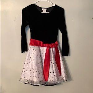 Little girls Christmas dress.